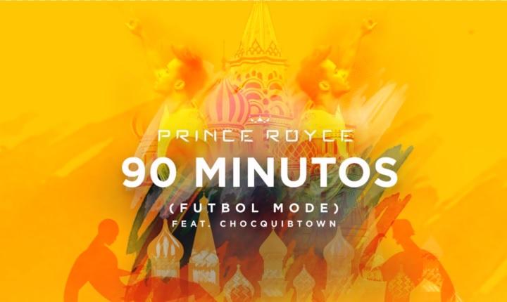 Prince Royce se pone en modo fútbol con ChocQuibTown en '90 Minutos'