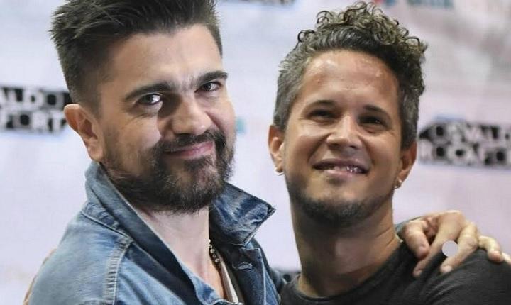 Juanes y Vicente García armaron la fiesta en Puerto Rico