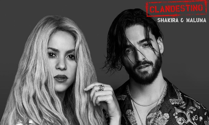 Shakira ya empezó a grabar video de 'Clandestino'