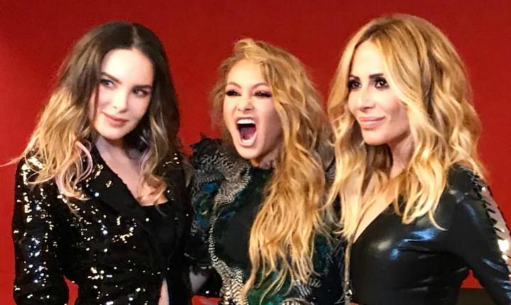 El incómodo momento entre Belinda, Paulina Rubio y Marta Sánchez
