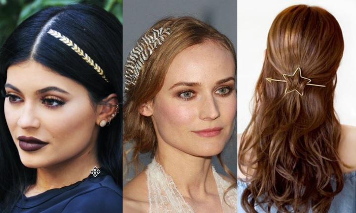 Quítale la monotonía a tu cabello con accesorios de moda