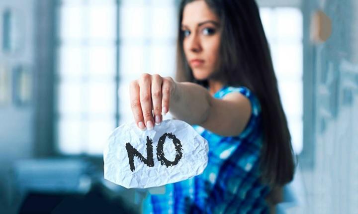 "Date un regalo a ti mismo, aprende a decir ""NO"""