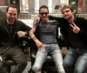 SanLuis y Marc Anthony trabajan en nueva canción