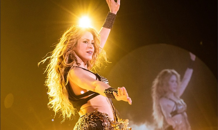 Reconocido deportista fue captado en concierto de Shakira