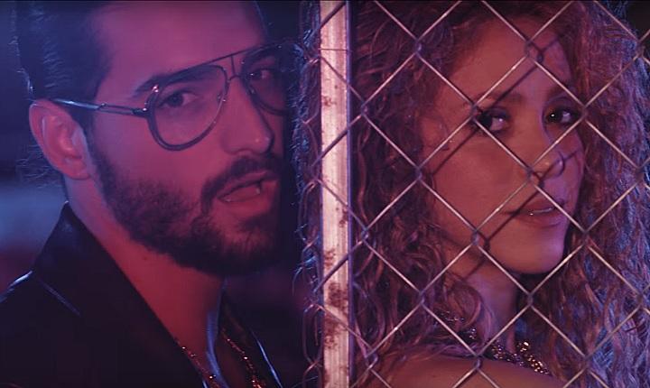 Shakira y Maluma estrenan video de 'Clandestino'