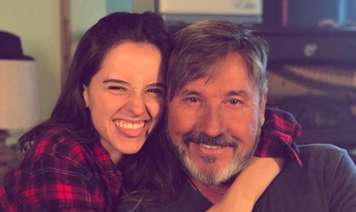 La reacción de Ricardo Montaner por el compromiso de su hija