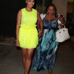 LaLa Anthony celebrates the one year anniversary of Courvoisier Gold at Bootsy Bellows in West Hollywood