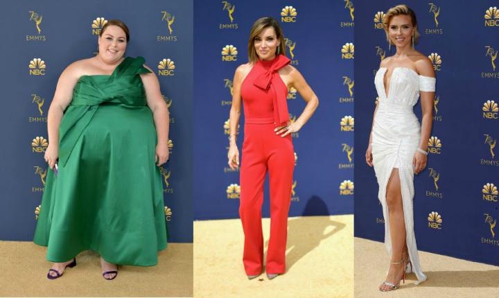 Los looks que atinaron y los que no en los Premios Emmy's 2018