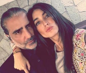 Karla Laveaga y Alejandro Fernández