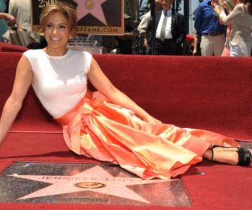 Estrella de Jennifer López es víctima de vandalismo