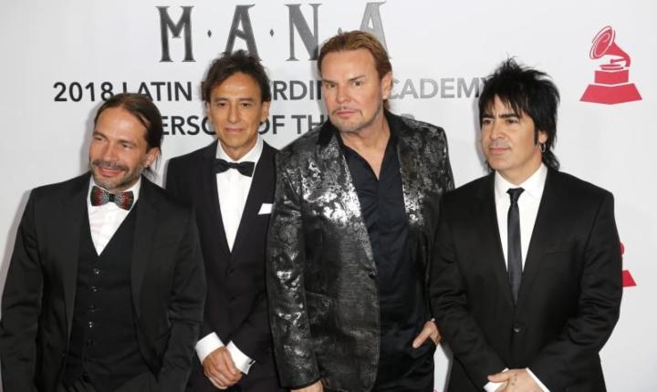 Honran a Maná como Persona del Año en los Grammy Latino
