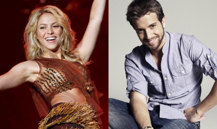 Shakira fue la maestra de baile de Pablo Alborán