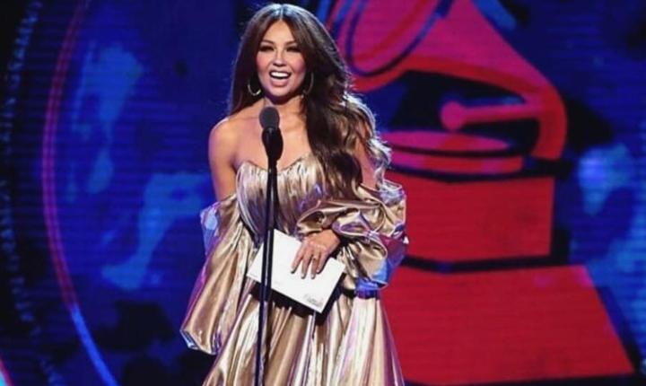 Thalía vivió incómodo momento en los Grammy por Luis Miguel