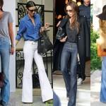 Los jeans bota flare