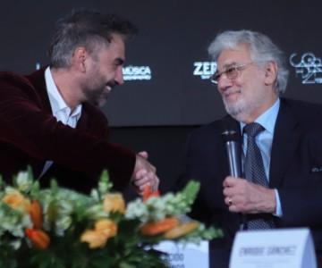 Alejandro Fernández cantará junto a Plácido Domingo