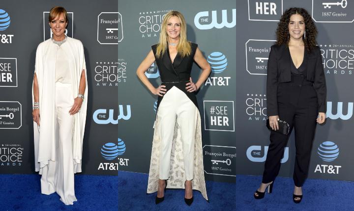 Mujeres en los Critics' Choice Awards 2019 con los pantalones puestos