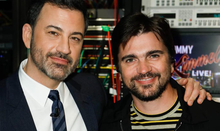 ¡De Colombia para el mundo! Juanes se luce en show de Jimmy Kimmel