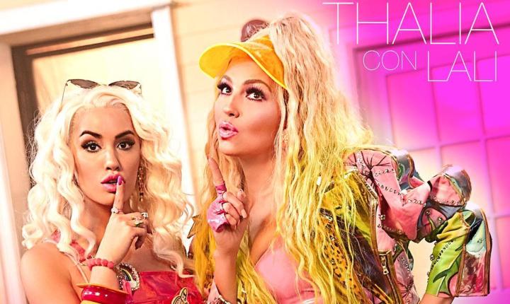 Thalía busca crear al hombre perfecto en video de 'Lindo Pero Bruto'