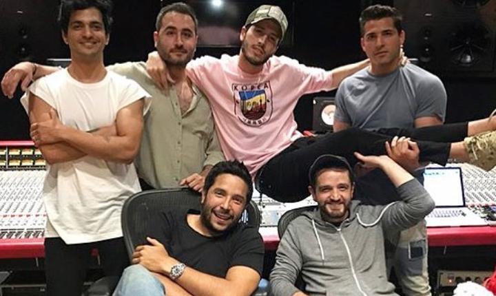 Reik prepara nueva música junto a productores colombianos