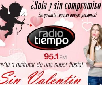 """Celebra """"Sin Valentín"""" con tu Radio Tiempo"""