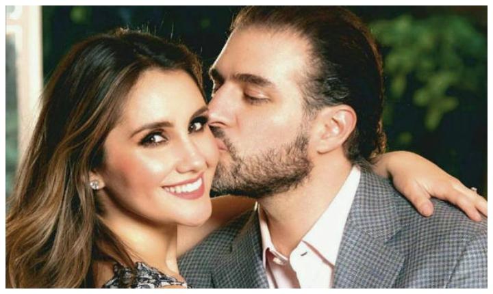 Difunden fotos inéditas del matrimonio de Dulce María