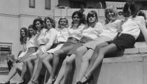 minifalda sesentas