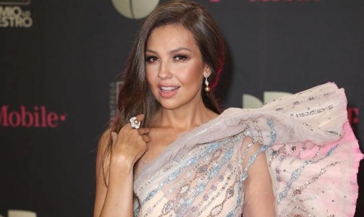 Thalía recuerda a su ex pareja Alfredo Díaz con 'Sangre'