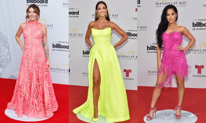 Los vestidos que no te puedes perder de los Latin Billboard 2019