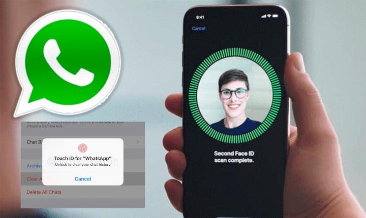 El nuevo WhatsApp: con huella, reconocimiento facial y sin captura de pantalla