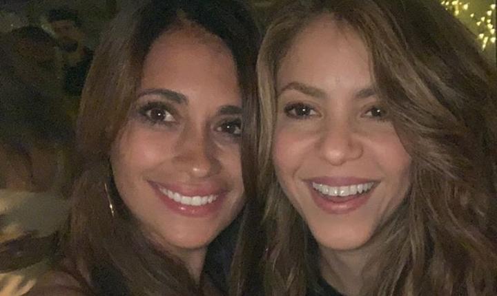 Shakira y Antonela Rocuzzo silencian rumores de enemistad