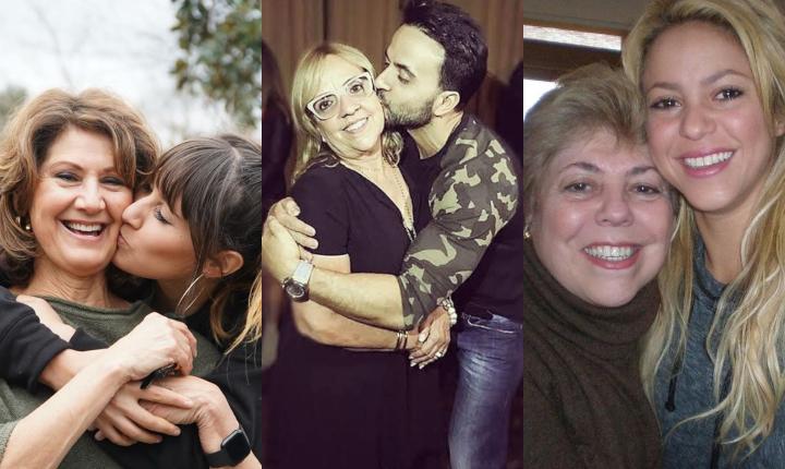 Así celebraron los famosos el Día de la Madre