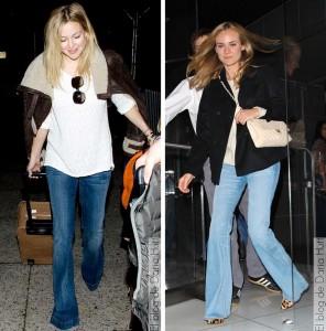 jeans bota ancha