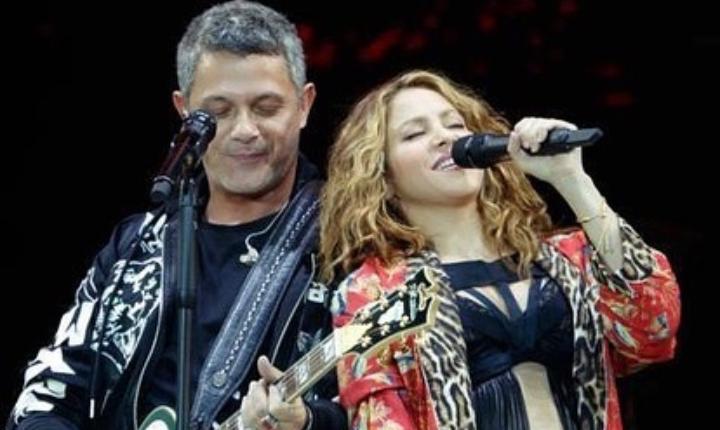 Shakira y Alejandro Sanz recuerdan broma juntos