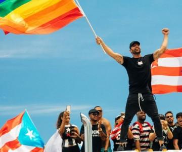 Ricky Martin encabeza protestas en Puerto Rico