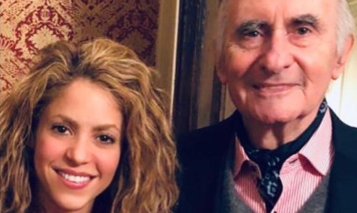 Shakira lamenta en redes la muerte de su exsuegro