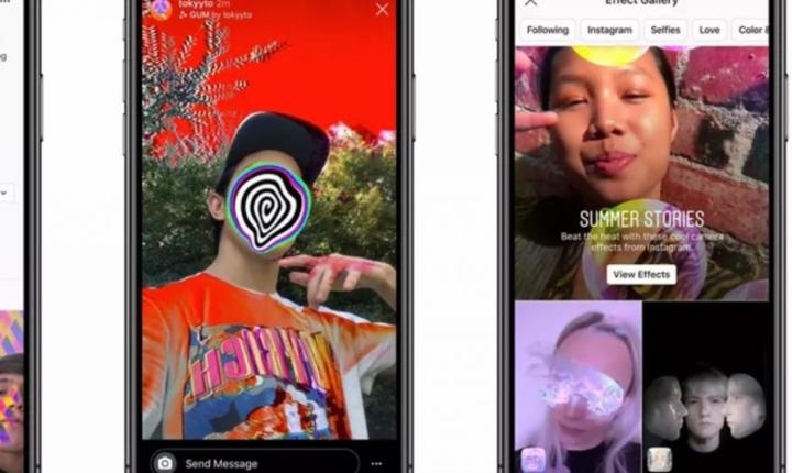 Facebook permite crear filtros personalizados para Instagram