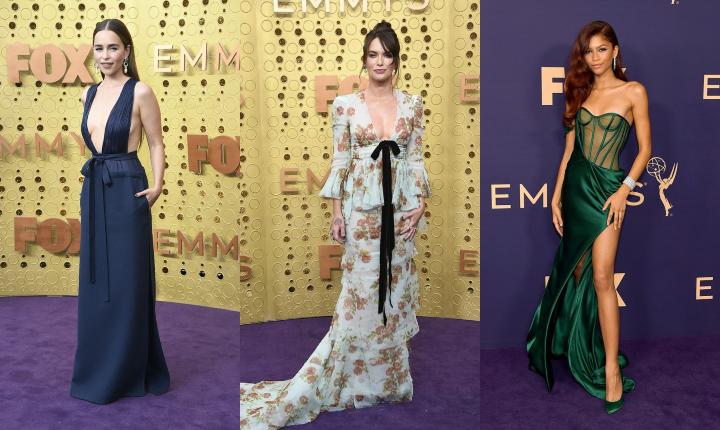 Moda en los Premios Emmy 2019, variedad y belleza