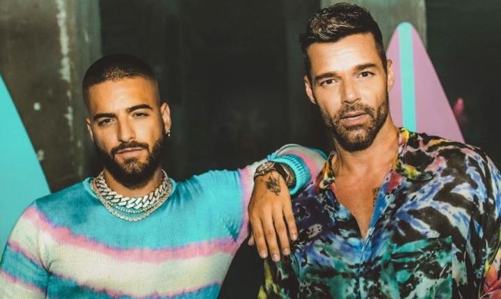 Ricky Martin y Maluma colaboran nuevamente en 'No Se Me Quita'
