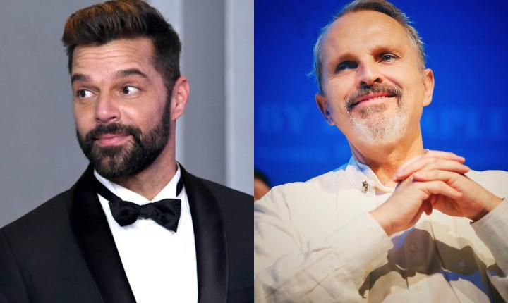 Ricky Martin y Miguel Bosé reconocidos en Cumbre de Premio Nobel
