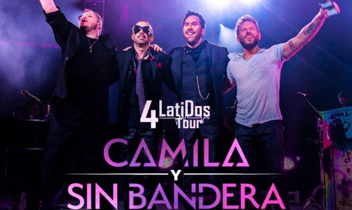 Camila y Sin Bandera llegan a Bogotá con '4 Latidos Tour'