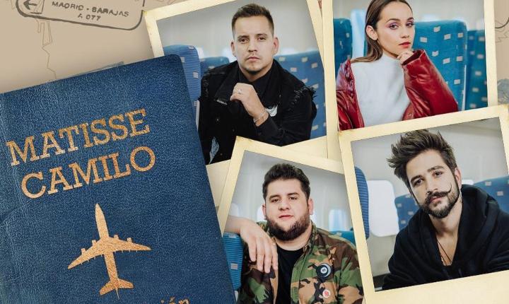 Camilo y Matisse toman el 'Primer Avión' para enamorar al mundo