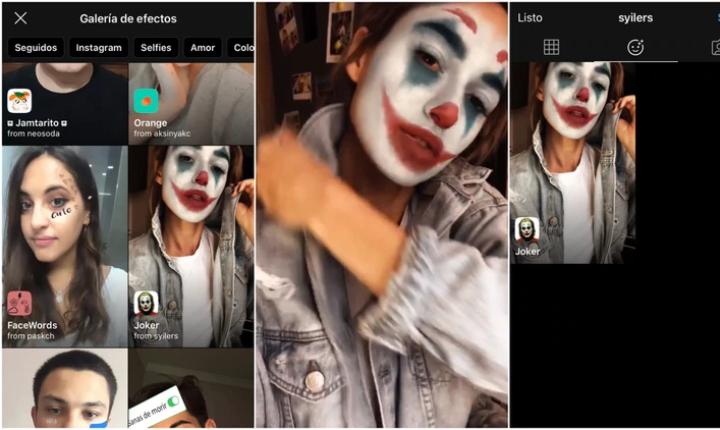 El filtro de Instagram que te convierte en el 'Joker'