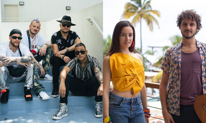 Piso 21 y Monsieur Periné brillaron en Rock in Rio 2019