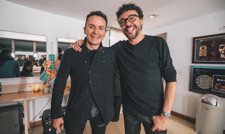 Andrés Cepeda y Fonseca se unen para estrenar 'La Promesa'