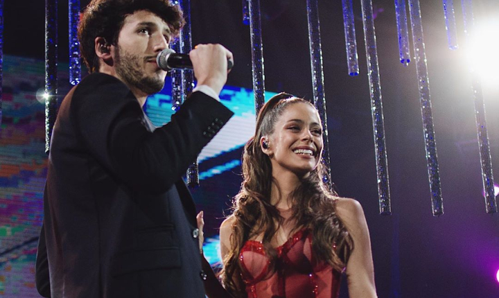 Sebastián Yatra y Tini son tendencia por concierto en Bogotá