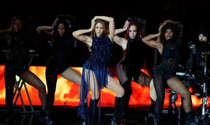 Así fue el espectacular show de Shakira en final de Copa Davis