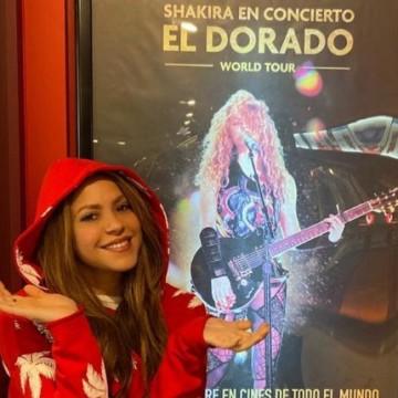 Shakira agradece asistencia de sus fans a la película