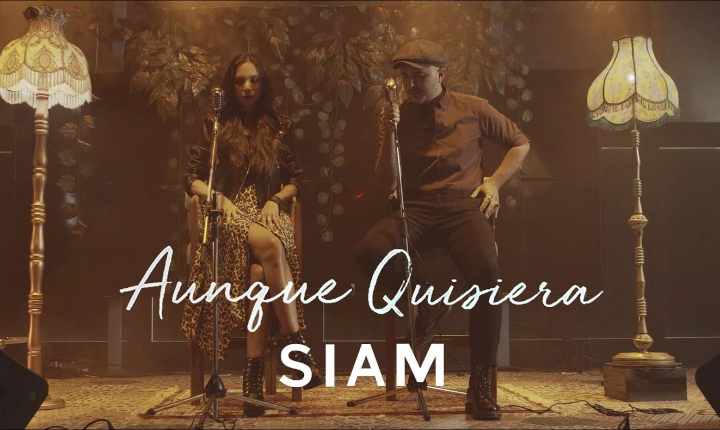 Siam regresa a la escena musical con 'Aunque Quisiera'