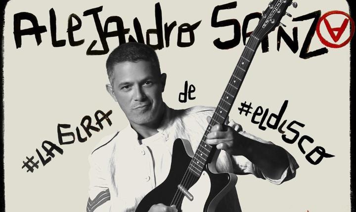 Alejandro Sanz lanza su nuevo trabajo '#LaGira de #ElDisco'