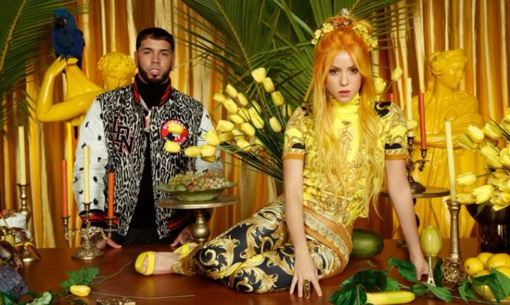Fans de Shakira editan 'Me Gusta' y sacan a Anuel AA